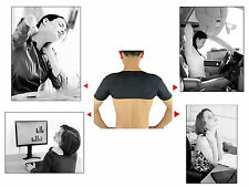 Tourmaline self heating Magnetic double shoulder brace, support, pain relief