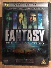 Final Fantasy: Spirits Within Anime Japonés Película Edición Limitada GB DVD CON