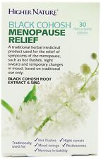 Higher Nature Black Cohosh Menopause Relief - 30 Tablets