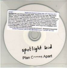 (CM584) Spotlight Kid, Plan Comes Apart - 2012 DJ CD