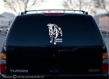 American Bulldog vinyl decal bumper sticker Scott large