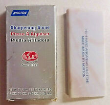 NORTON HARD ARKANSAS SHARPENING STONE HS-4 W/ORIGINAL BOX