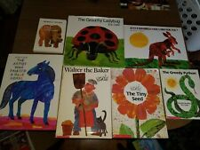 Eric Carle Book LOT of 7 Picture Books