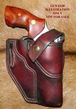 Gary Cs Leather Avenger Holster Sampw N Frame 4 Retention Strap Pinch Guard