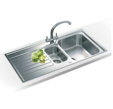Franke Ascona ASX651 Reversible 1.5 Bowl Inset Stainless Steel Kitchen Sink AX6