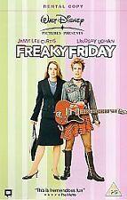 Freaky Friday, Walt Disney, (VHS 2004) Blue Case, tape still wrapped new