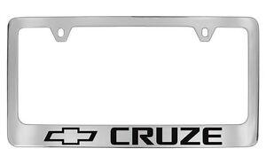 Chevrolet Cruze Chrome Metal license Plate Frame Holder