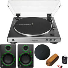 Audio-Technica Fully Automatic Belt-Drive Turntable w/ Audio Immersion Bundle