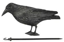Garden Decoration Garden Ornament Pigeon Deterrent Ornament Raven with Hanger