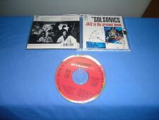 "The Solsonics ""Jazz In The Present Tense"" CD  Chrysalis USA 1994"