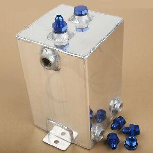 Universal Complete Fuel Surge Tank Cell 3 Litre Swirl Pot System Aluminium New