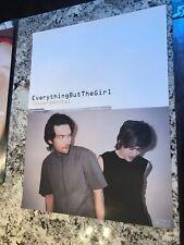 Everything But the Girl Temperamental Promo Poster Original 1999 Promo 24x18