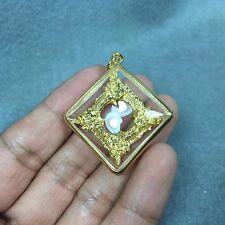 PHAYA NAK Naga Dragon Ouroboros Naga Tail Infinity Thai Buddha Amulet pendant