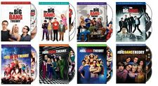 New Sealed The Big Bang Theory - The Complete Seasons 1-8 DVD 1 2 3 4 5 6 7 8