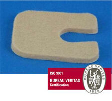 "F24 Adhesive Wool Flesh Felt Callus Pads 1/8"" -100-  Orthopedic Medical Grade US"
