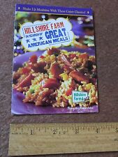 Hillshire Farm Recipe Brochure Little paper with six recipes 2001 Cajun Cooking