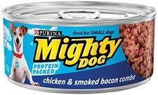 Purina Mighty Dog Chicken  Smoked Bacon Combo Wet Dog Food - (24) 5.5 Oz.