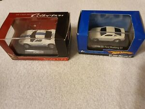 SMALL SCALE FAST FORDS -1/72 Ford GT- -small Hot Wheels Mustang GT- L@@K