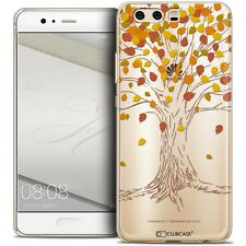 Coque Crystal Gel Pour Huawei P10 Extra Fine Souple Autumn 16 Tree