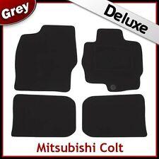 MITSUBISHI COLT 2004-2012 Tailored LUXURY 1300g Car Mats GREY