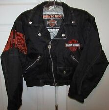 Harley Davidson Born To Ride Infant Youth Toddler Black Faux Leather Jacket