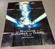 Affiche du film LA MACHINE A EXPLORER LE TEMPS - JEREMY IRONS - 120X160