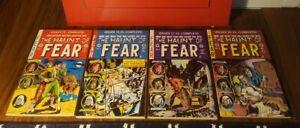 The Haunt Of Fear LOT Vol 2,4,5,6 Reprint 1985 EC Archives