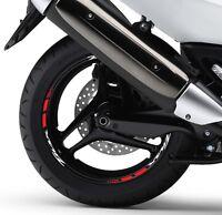 KIT adesivi cerchi ruote TMAX T MAX 500 530 diversi colori disponibili stickers