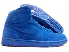 NIKE AIR JORDAN 1 RETRO HIGH SUEDE TEAM ROYAL SIZE MEN'S 10.5 [332550-404]