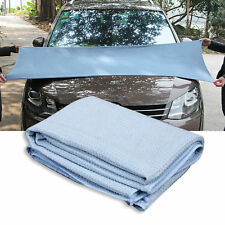 New High Quality Car Drying Towel Blue Waffle Weave Microfibre 60 x 80cm YS
