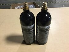 Lot Of 2 Used Tippmann Sports 20 oz Co2 Paintball Air Tank Hydro 2020