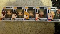 Friends, tv show, funko pop, vinyl figure x5, 700, 701, 703, 704, 705
