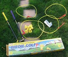 Vintage Wham-O Birdie Golf Set 100% Complete in Box Game 1998 Backyard Fun