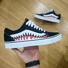 Vans Old Skool x Bape Custom and Shark Teeth Camo ANY SIZE/COLOUR Coocu Customs