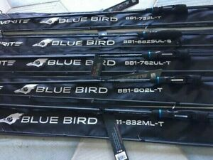 Favorite spinning rod Blue Bird BB1-832ML-T new models 2020 micro jig, light jig
