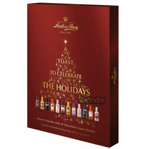 Anthon Berg Chocolate Liquor Advent Calendar Countdown to Christmas - 375g