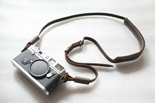 Genuine Real Leather Camera Shoulder Neck Strap for EVIL Film Camera Brown 155