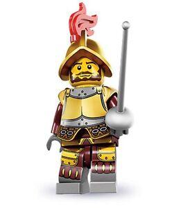 Lego minifig series 8 conquistador mexico spain sword warrior eldorado gold city