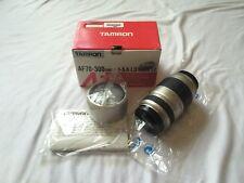 Tamron AF 70-300mm F/4-5.6 LD Tele-Macro [1:2] (Model 772D)