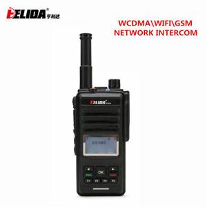 2PCS CD860 Walkie Talkie with Sim Card 2G 3G GSM WCDMA Wifi Internet Radio