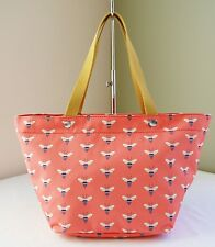 Fossil Pink Bumble Bee Key Per EW Tote