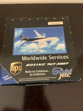 Ups World Wide Services ,1-400 Scale Boeing 767-300F By Gemini Jets- Collectible