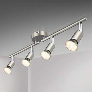 LED Deckenleuchte Drehbar 4 Flammig LED Strahler Deckenlampe Spot Deckenstrahler
