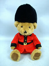 "13"" Plush English Guard Bear by Harrod's - Made in England"