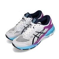 Asics Gel-Kayano 26 White Peacoat Purple Blue Women Running Shoes 1012A457-100