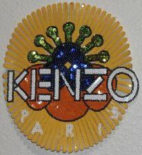Sequin Patch: Yellow KENZO