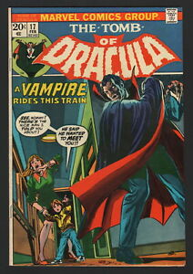 TOMB OF DRACULA #17, 1974, Marvel, VF CONDITION COPY, A VAMPIRE RIDES THE TRAIN!