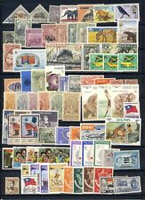 Worldwide collection with lots of topicals, some Ethiopia, complete sets, 1 page