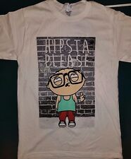 New HIPSTA PLEASE STEWIE FAMILY GUY T SHIRT--  T-SHIRT LICENSED