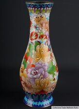 China 20. Jh. A Chinese Cloisonne Enamel Vase - Vaso Cinese Jarrón Chino Chinois